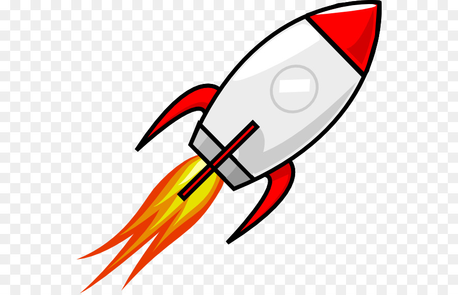 Rocket Spacecraft Cartoon Clip Art
