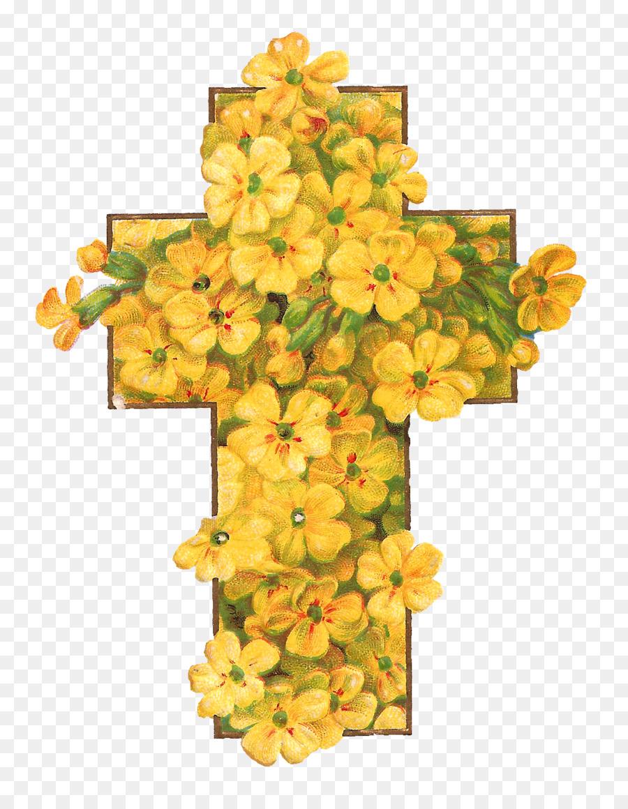 Christian cross easter flower clip art cross flowers cliparts png christian cross easter flower clip art cross flowers cliparts mightylinksfo