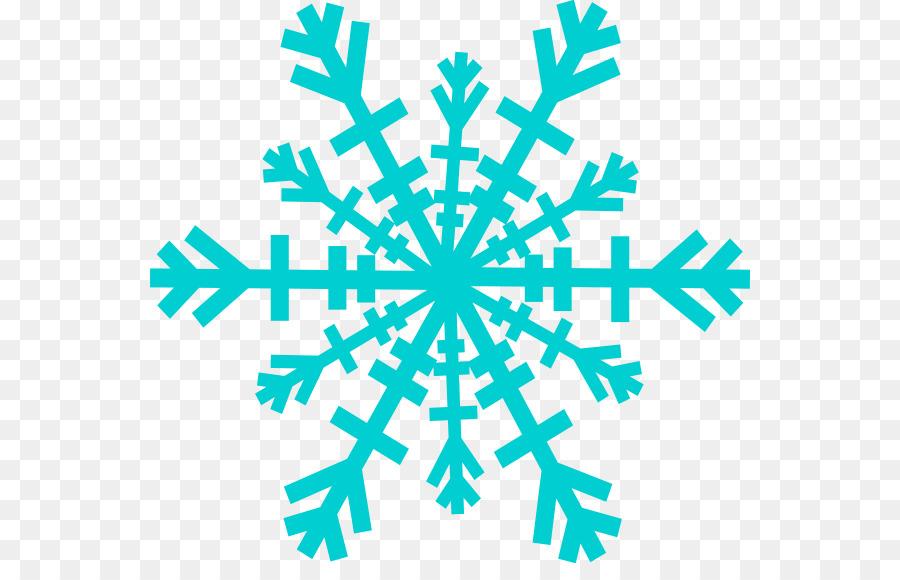 Vector Copo De Nieve: Dibujo Copo De Nieve A Color