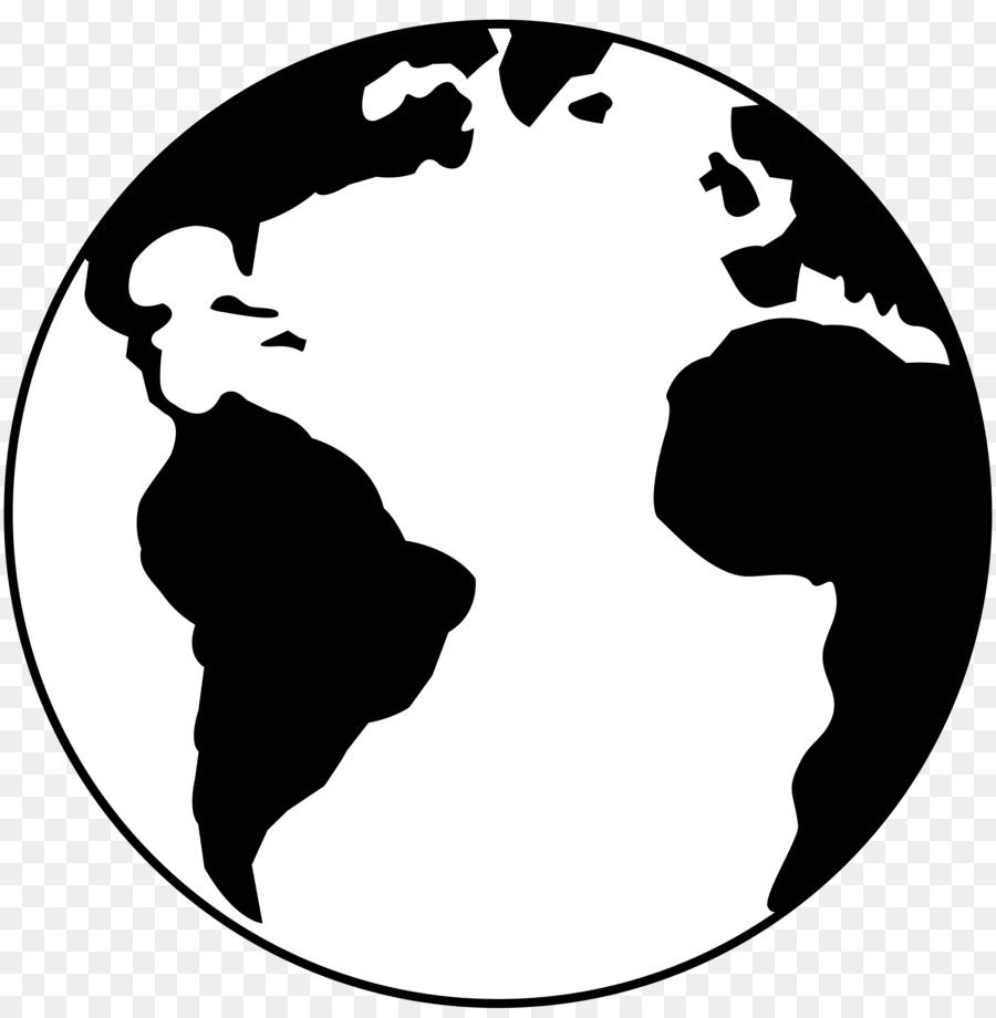 Earth black and white drawing clip art free vector earth for Free online drawing