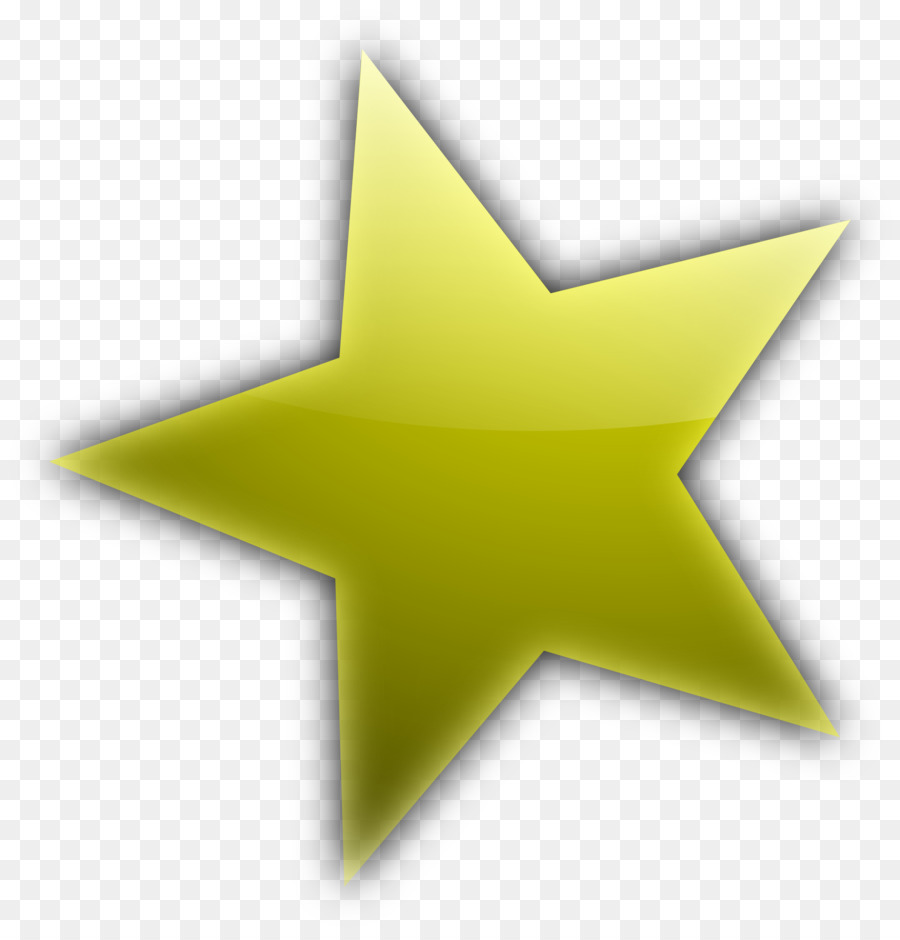 Estrellas en Forma de dibujos animados Clip art - De oro de cinco ...