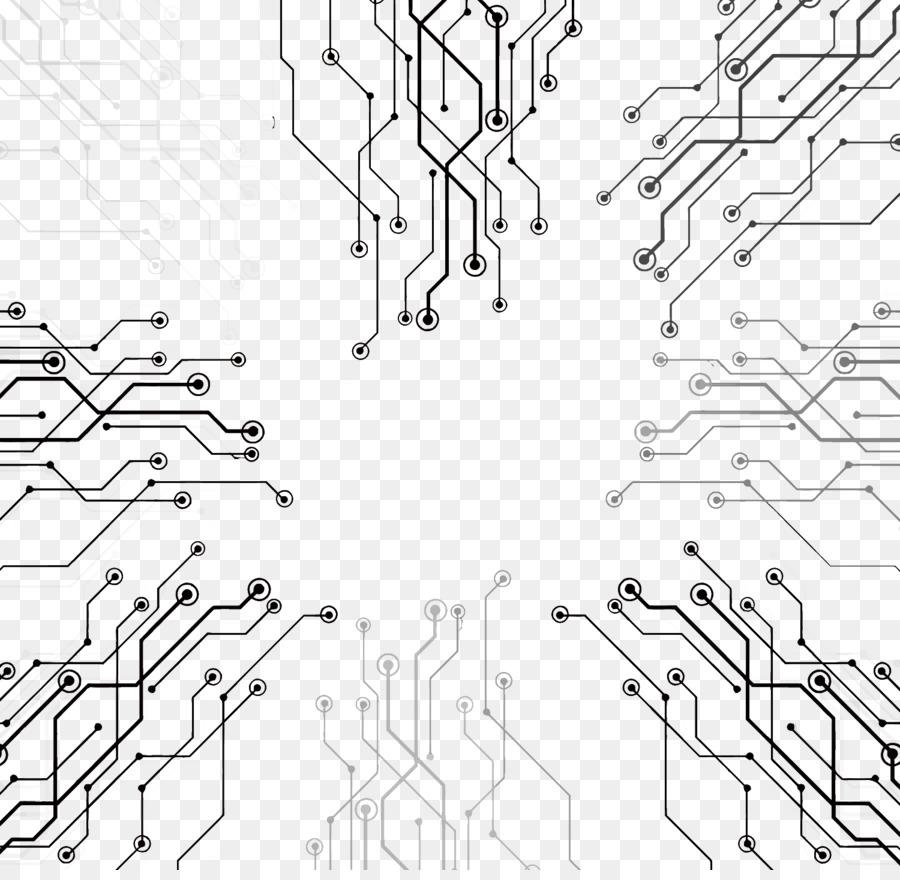 technology high tech line euclidean vector