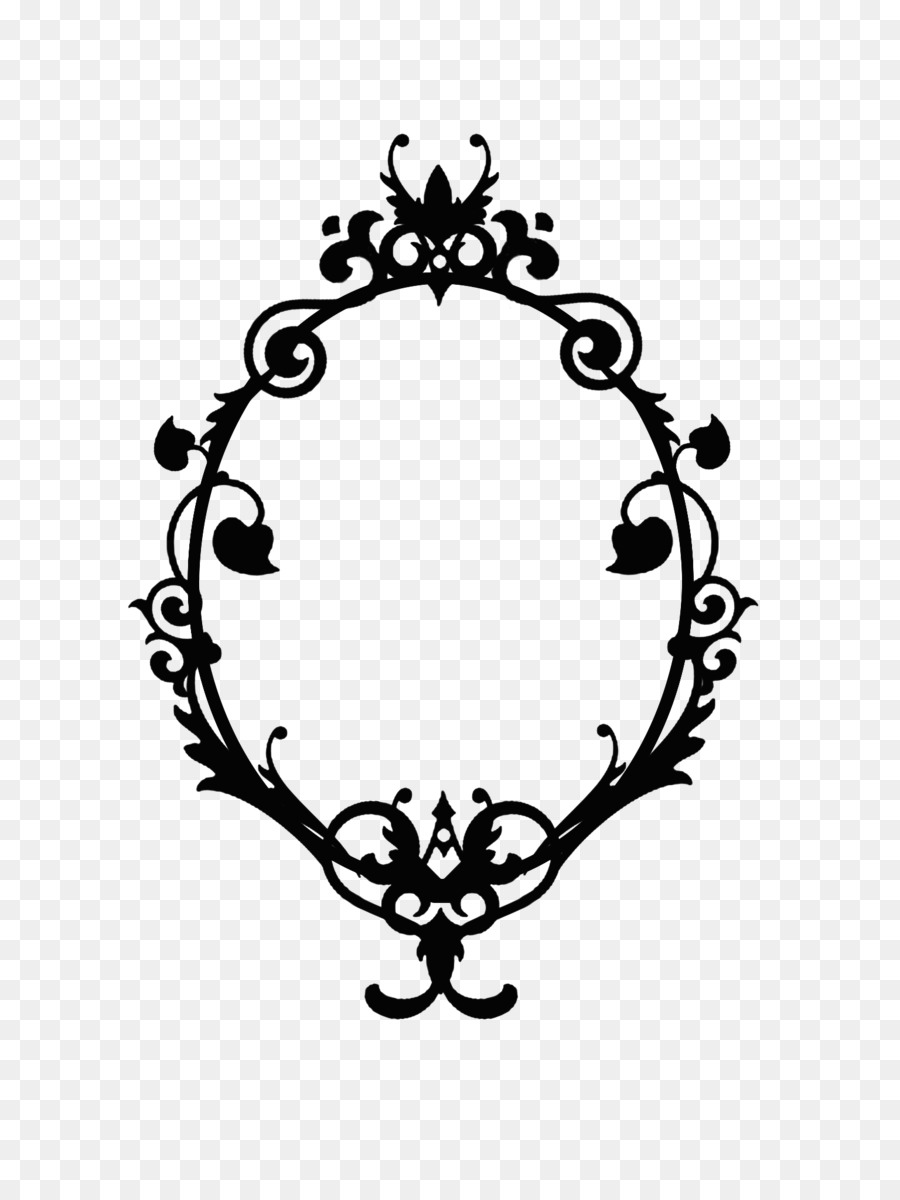 Picture Frames Oval Clip art - Skull Frame Cliparts png download ...
