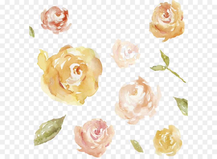 Flores Azuis Da Imagem Png Aquarela De Flores Flores Azul PNG