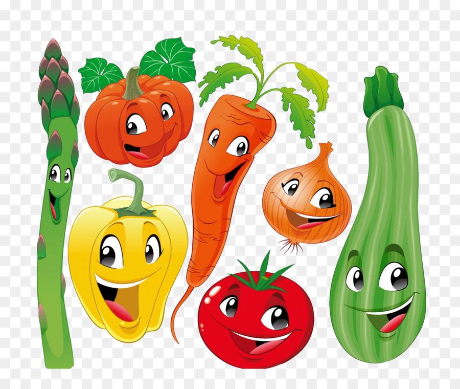 Vegetable Cartoon Fruit Illustration - Baby vegetables png ...