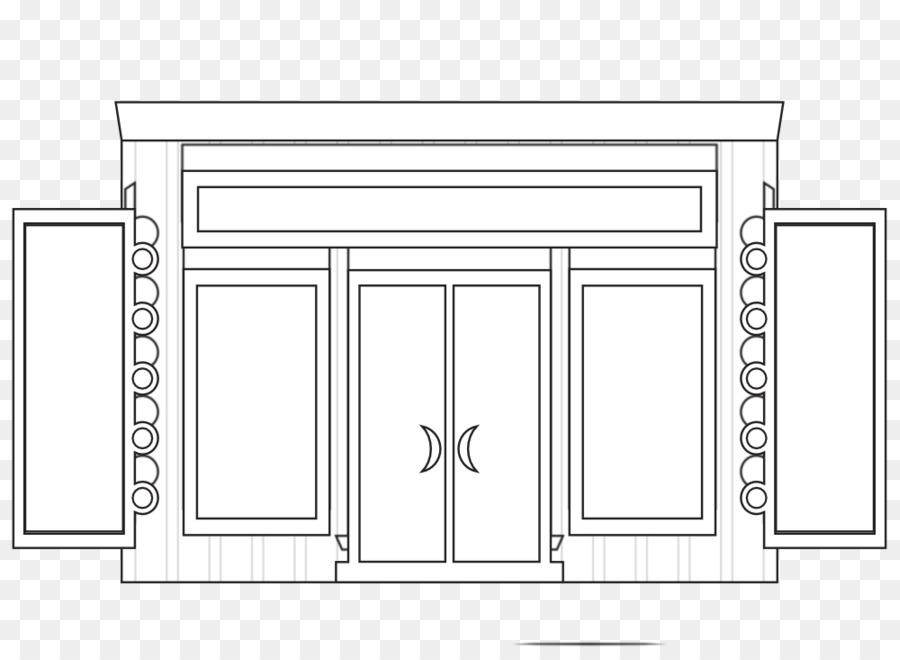 En blanco y negro para Colorear libro Clip art - La Casa Blanca ...