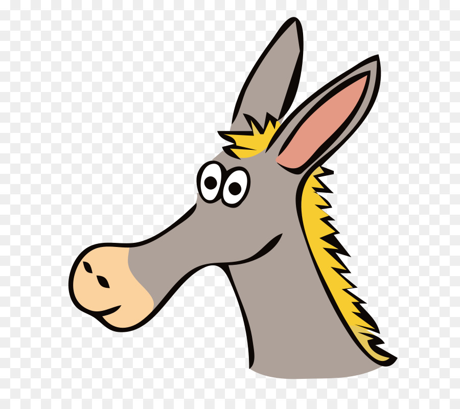 mule donkey drawing clip art free donkey clipart png download rh kisspng com clip art donkey and elephant clipart donkey black and white