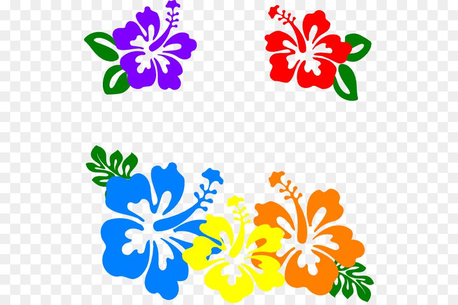 Hawaiian Flower Clip Art Hibiscus Flower Cliparts Png Download