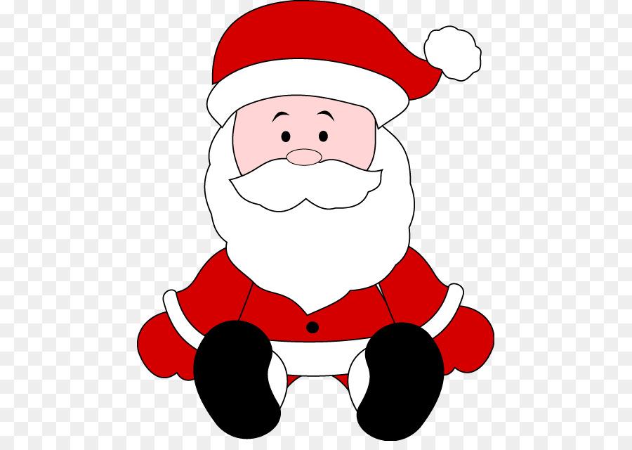Santa Claus De Navidad Infantil El Color Rojo De Santa Claus De