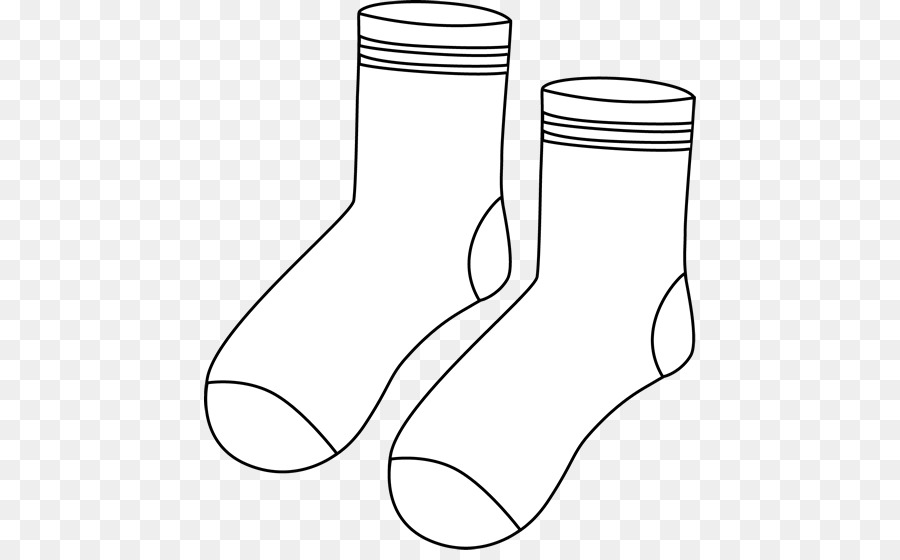 Dress Socks Black And White Clothing Clip Art Cliparts Socks Png