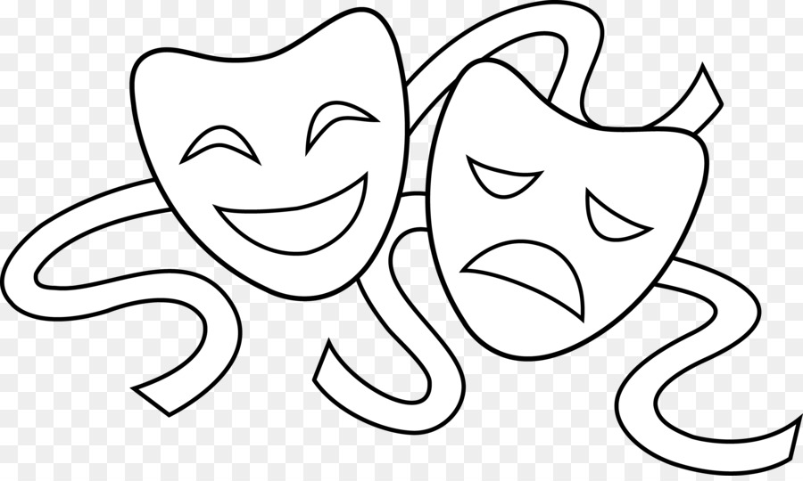 pictures of drama masks mask theatre drawing drama clip art acting sign cliparts 123