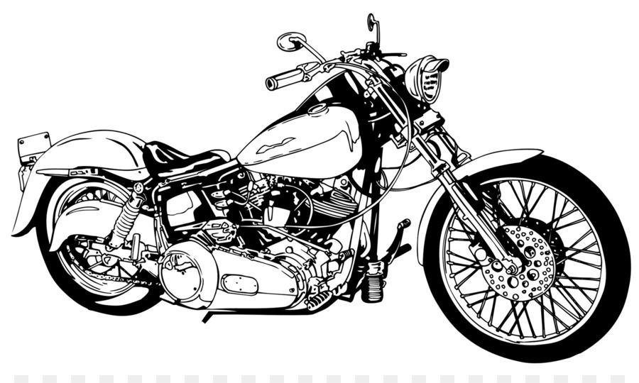 Harley Davidson Clip Art: Motorcycle Harley-Davidson Chopper Clip Art