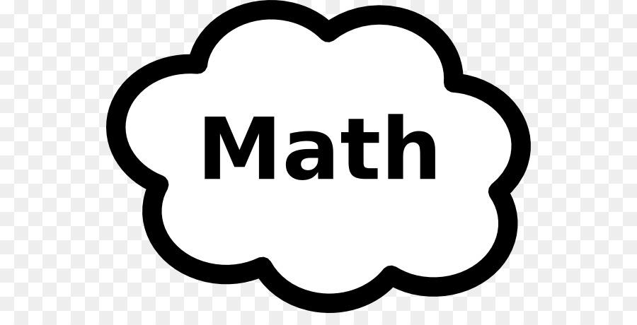 mathematics sign mathematical notation symbol clip art floral border clipart black and white Simple Flower Border Clip Art Black and White