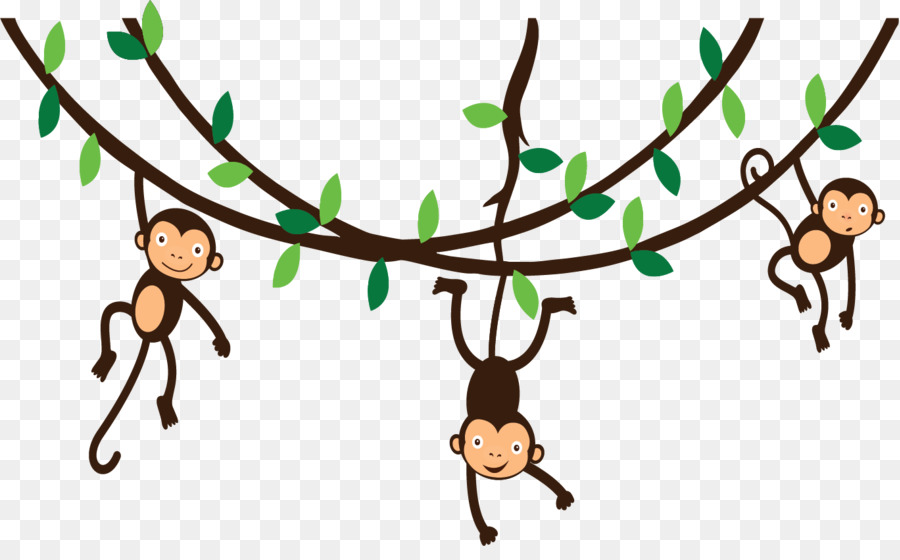 spider monkey photography clip art hanging monkey png download rh kisspng com monkey clipart free monkey clip art for kids