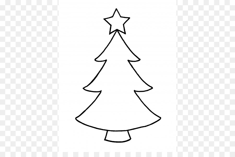 Christmas Tree Outline Clip Art Christmas Cliparts Outline Png