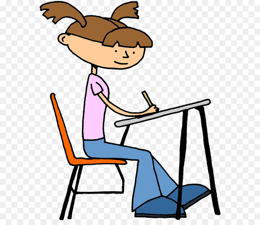 student doing school desk teacher clip art children writing rh kisspng com