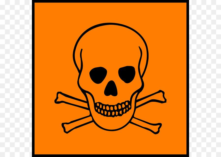Hazard Symbol Warning Sign Toxicity Science Symbol Png Download