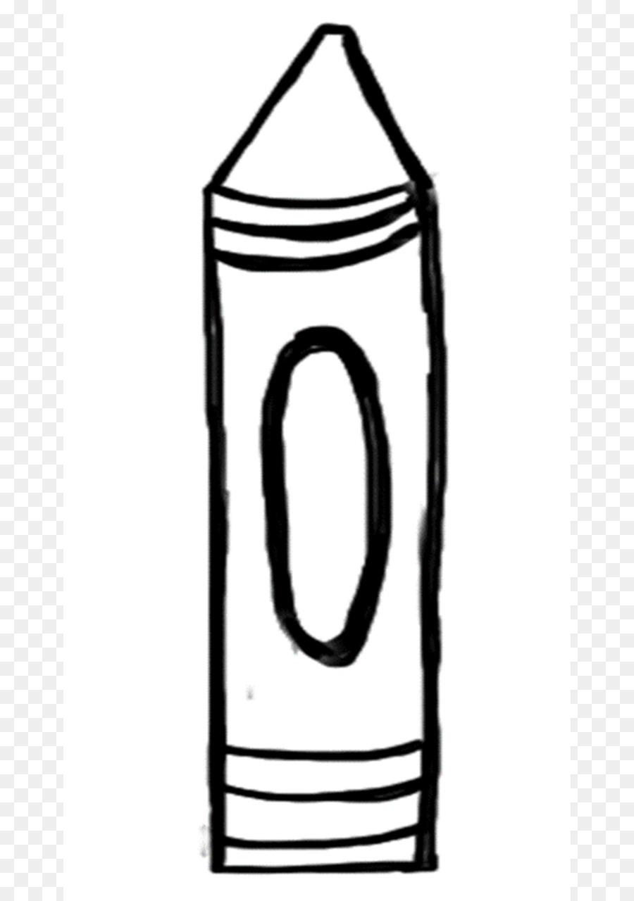 Crayon Template Stencil Crayola Clip art - Crayon Template png ...