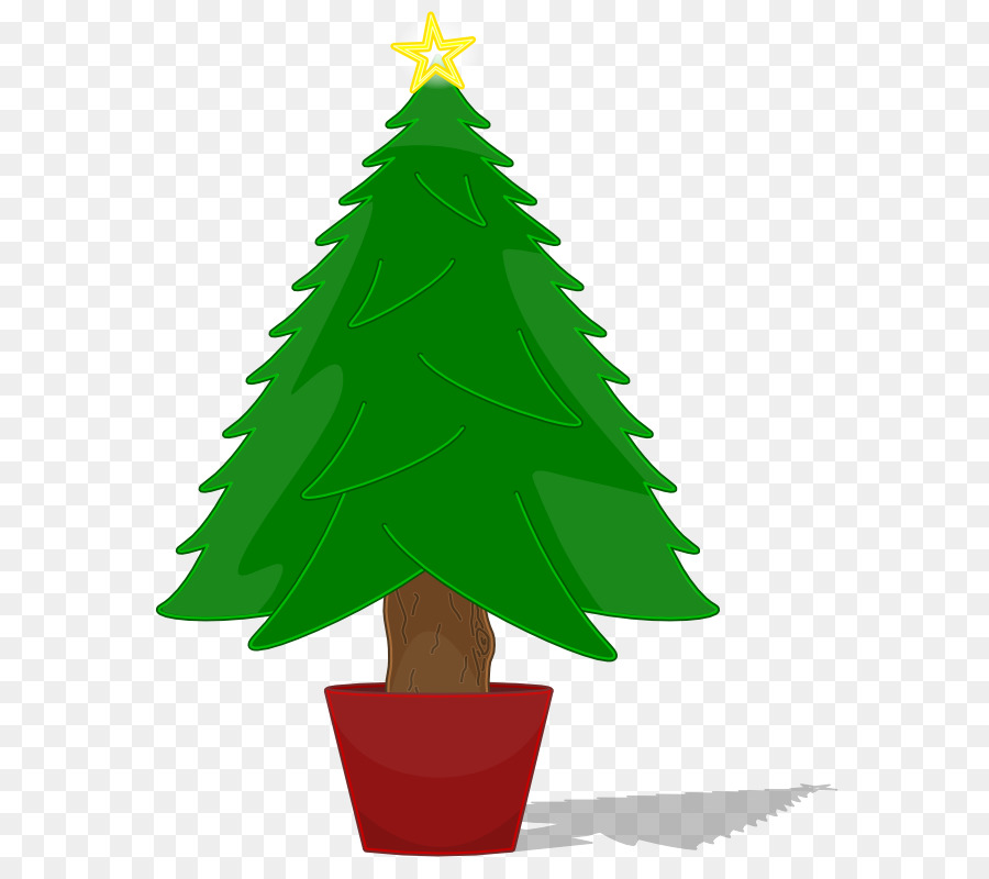 Christmas Tree Clip Art Tree Transparent Background Png Download