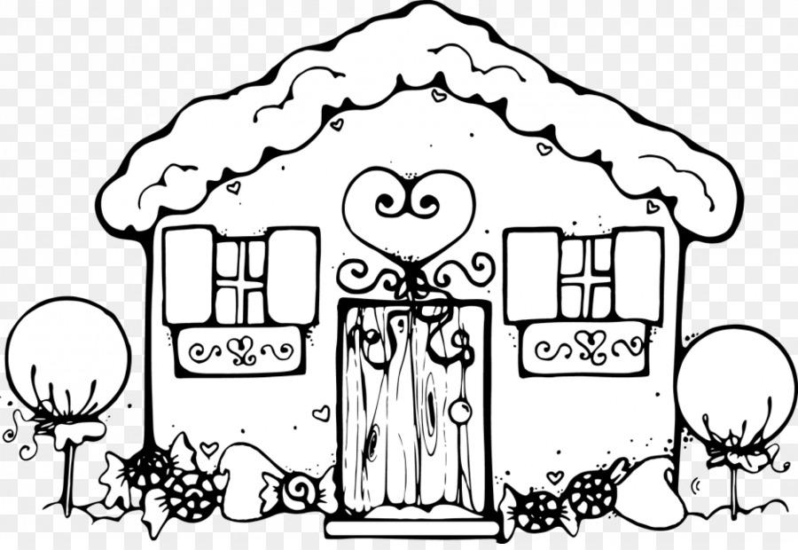 La Casa blanca casa de pan de Jengibre de Ponche de huevo bastón de ...