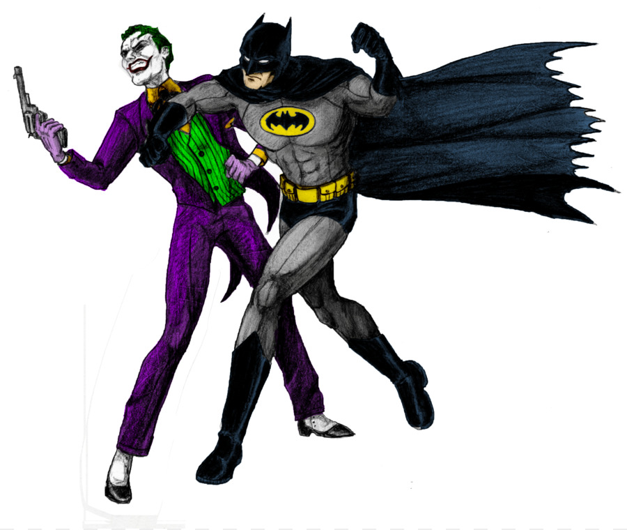 Joker di batman due facce robin cartoon bat