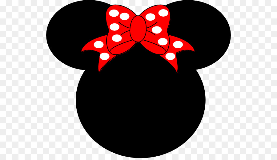 Mickey Mouse Minnie Mouse Ear Clip art - Minnie Mouse Silhouette png download - 600*514 - Free Transparent Mickey Mouse png Download.