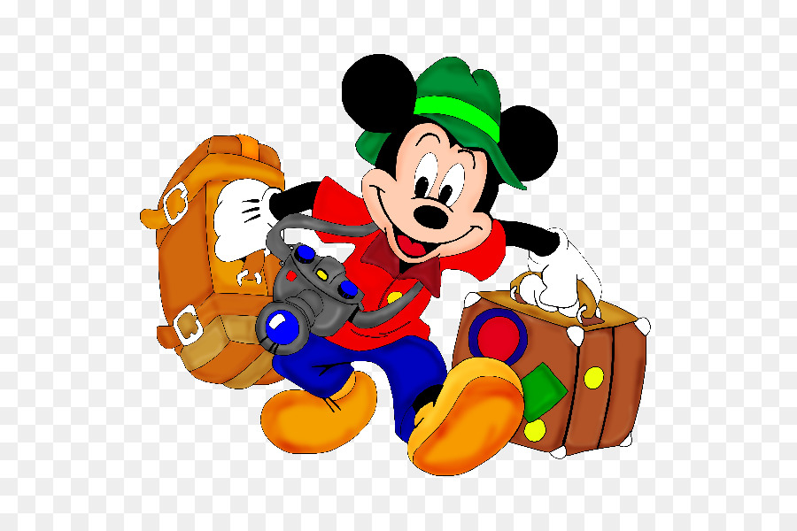 Walt Disney World Vacation Family Clip Art