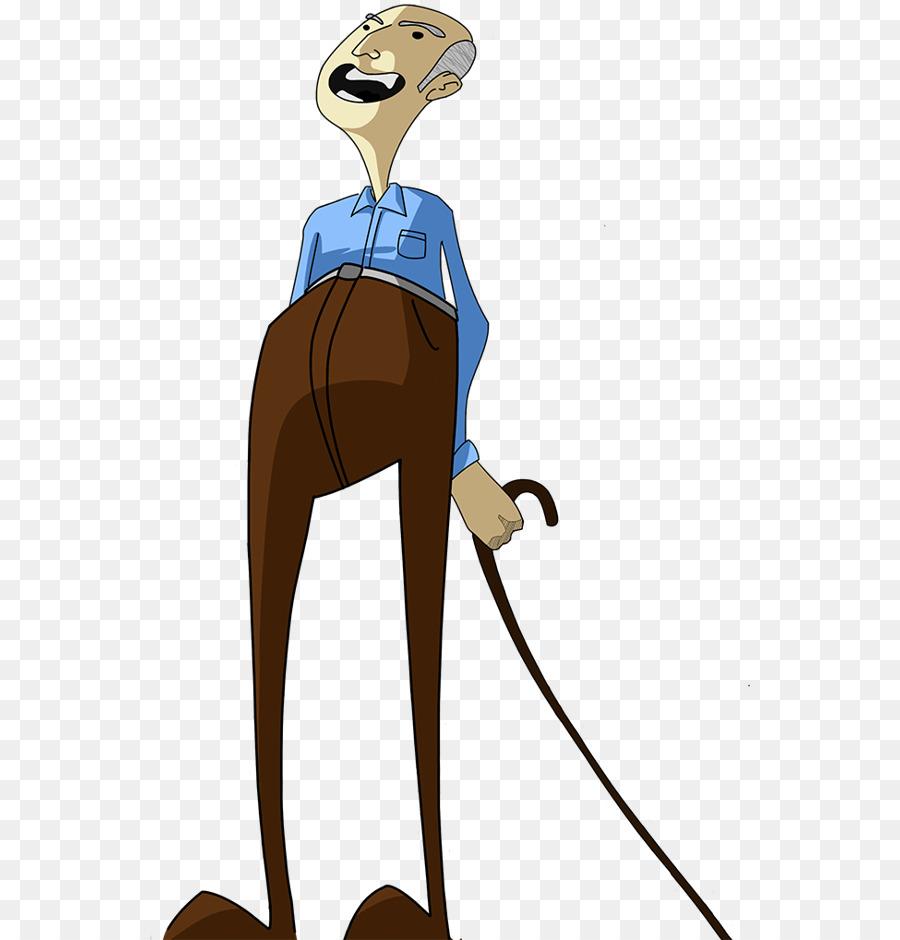 cartoon character illustration - old man illustration png download