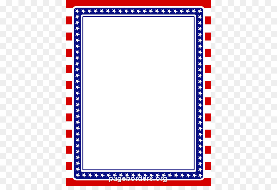 Usa flag border. Independence day png download
