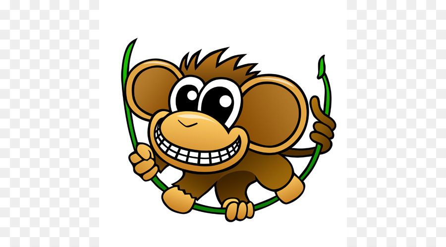 chimpanzee baby chimp cartoon clip art cartoon chimpanzee pictures rh kisspng com chimpanzee clipart black and white