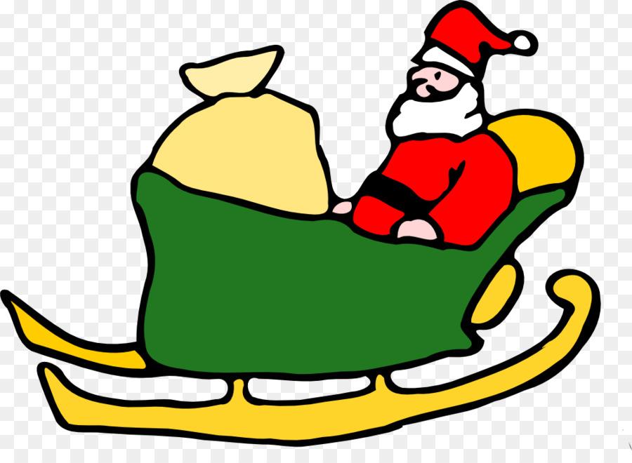 Rudolph, Santa Claus, Renos para Colorear libro Trineo - La Gran ...
