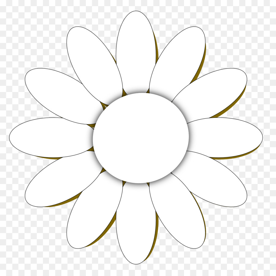 Common Daisy Flower Clip Art Simple Daisy Cliparts Png Download