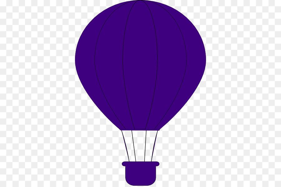 Balloon violet. Hot air png download