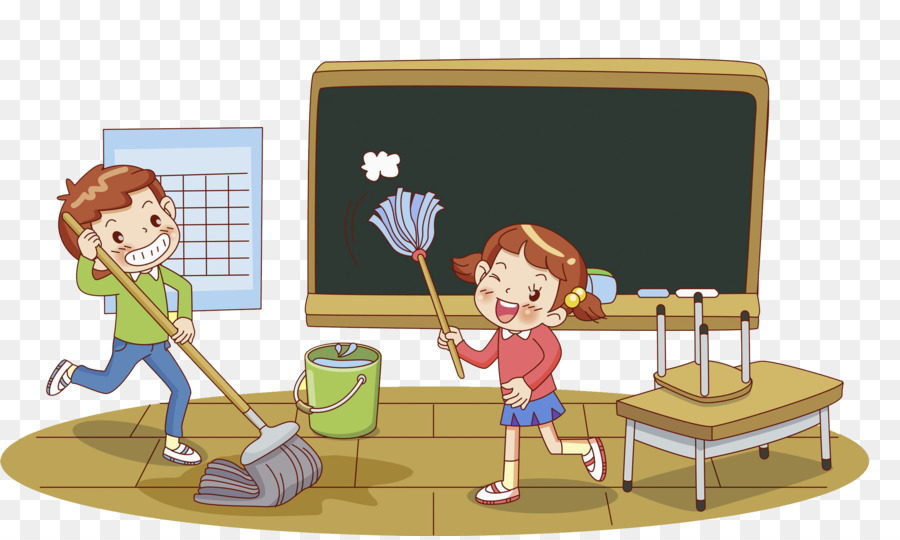 Classroom Photography Clip art - A cleaning child png ...