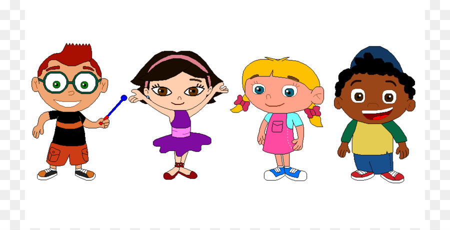 Caracteres de arte de Clip de YouTube de arte - Little Einstein ...