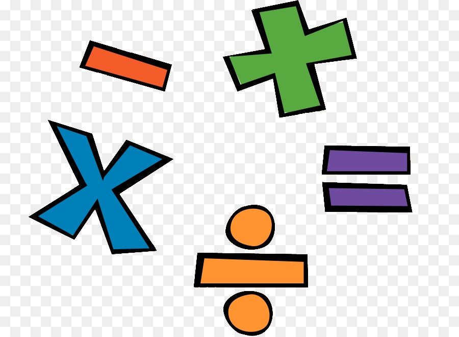 Mathematics Cartoon Division Clip Art
