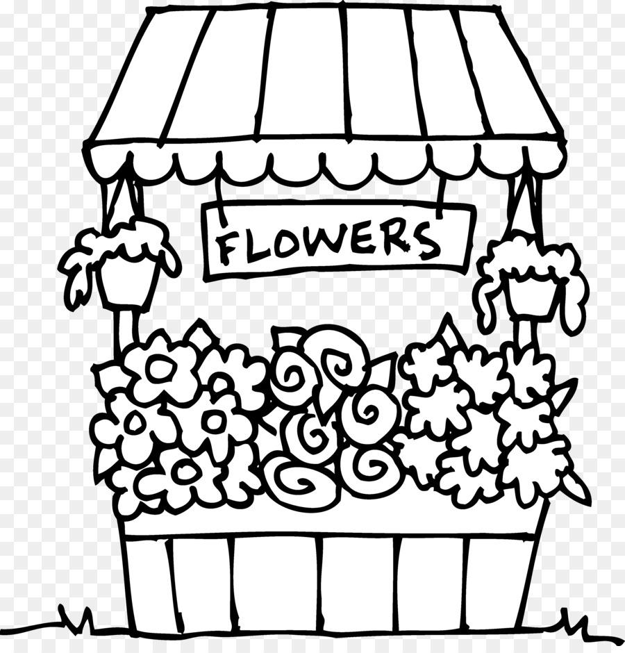 Libro para colorear Floristry Flor Floral diseño de Clip art ...