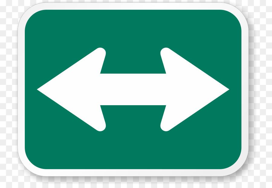 arrow traffic sign sticker clip art directional arrows png