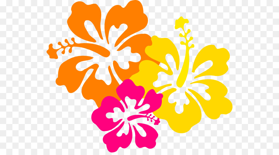 hawaiian flower clip art hibiscus flower drawings png download rh kisspng com hawaiian flower clip art black hawaiian flowers clipart