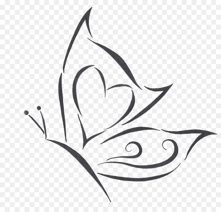 bd5ab05e1 Butterfly Tattoo Drawing - Butterfly Tattoo Designs PNG Transparent ...