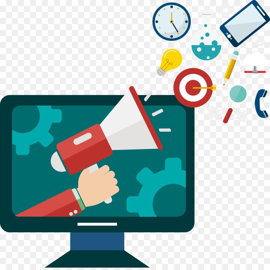 Computer Science Digital Illustration Vector Computer