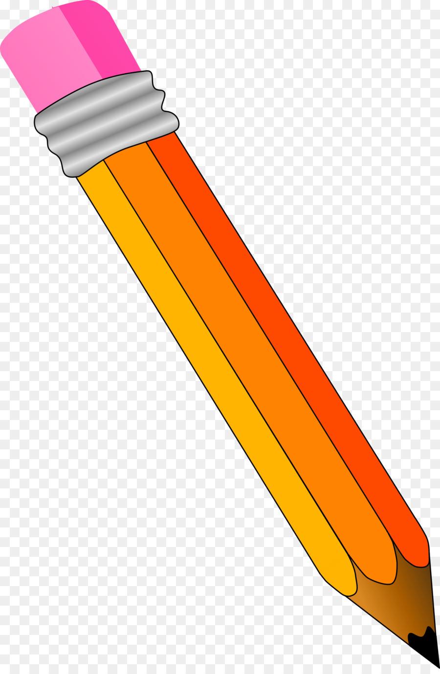colored pencil clip art sharpened pencil cliparts png download