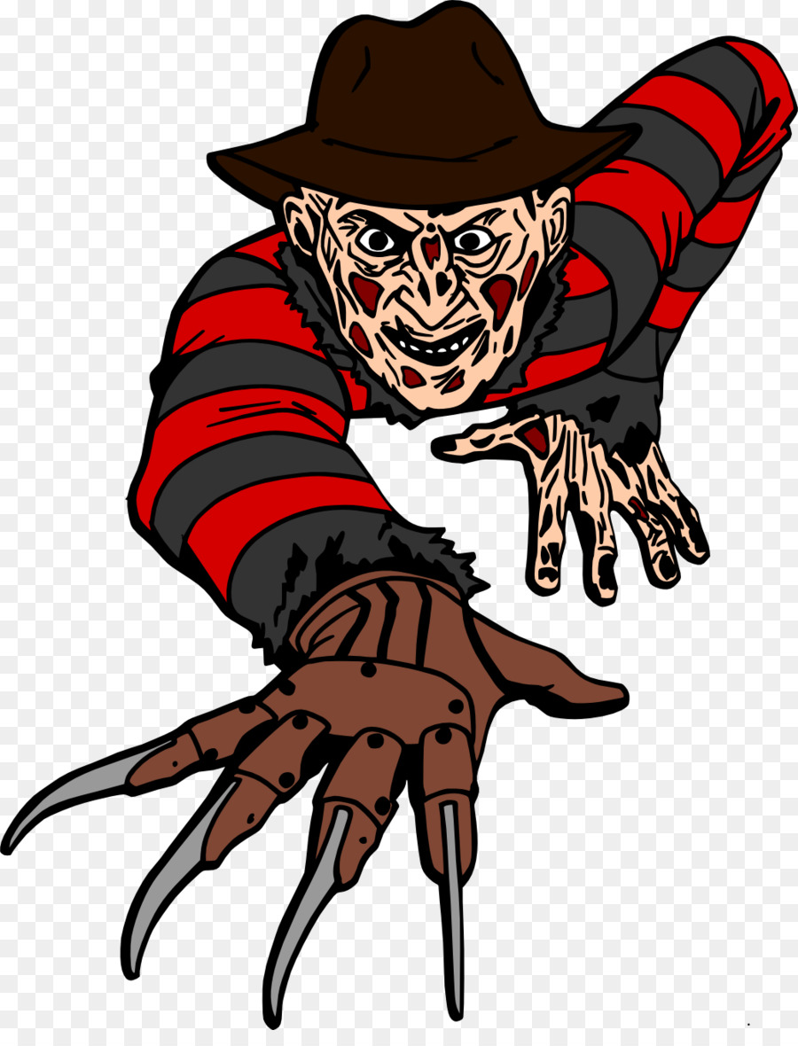 Freddy Krueger Jason Voorhees Drawing Clip art - Freddy Krueger ...
