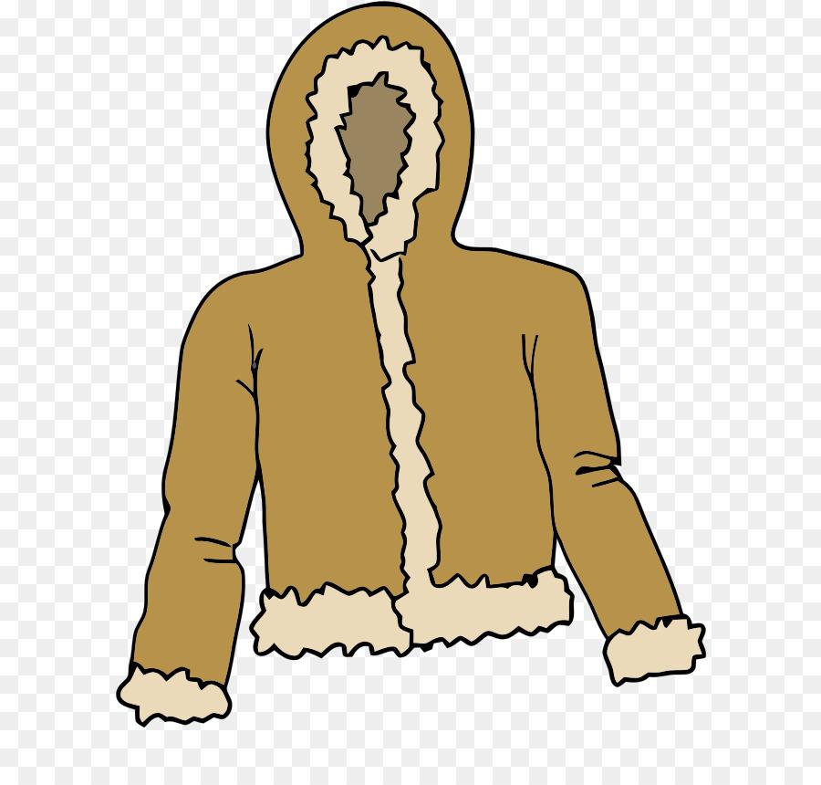 a5526bc10bbe Hoodie Coat Jacket Fur clothing Clip art - Winter Coat Cliparts png ...