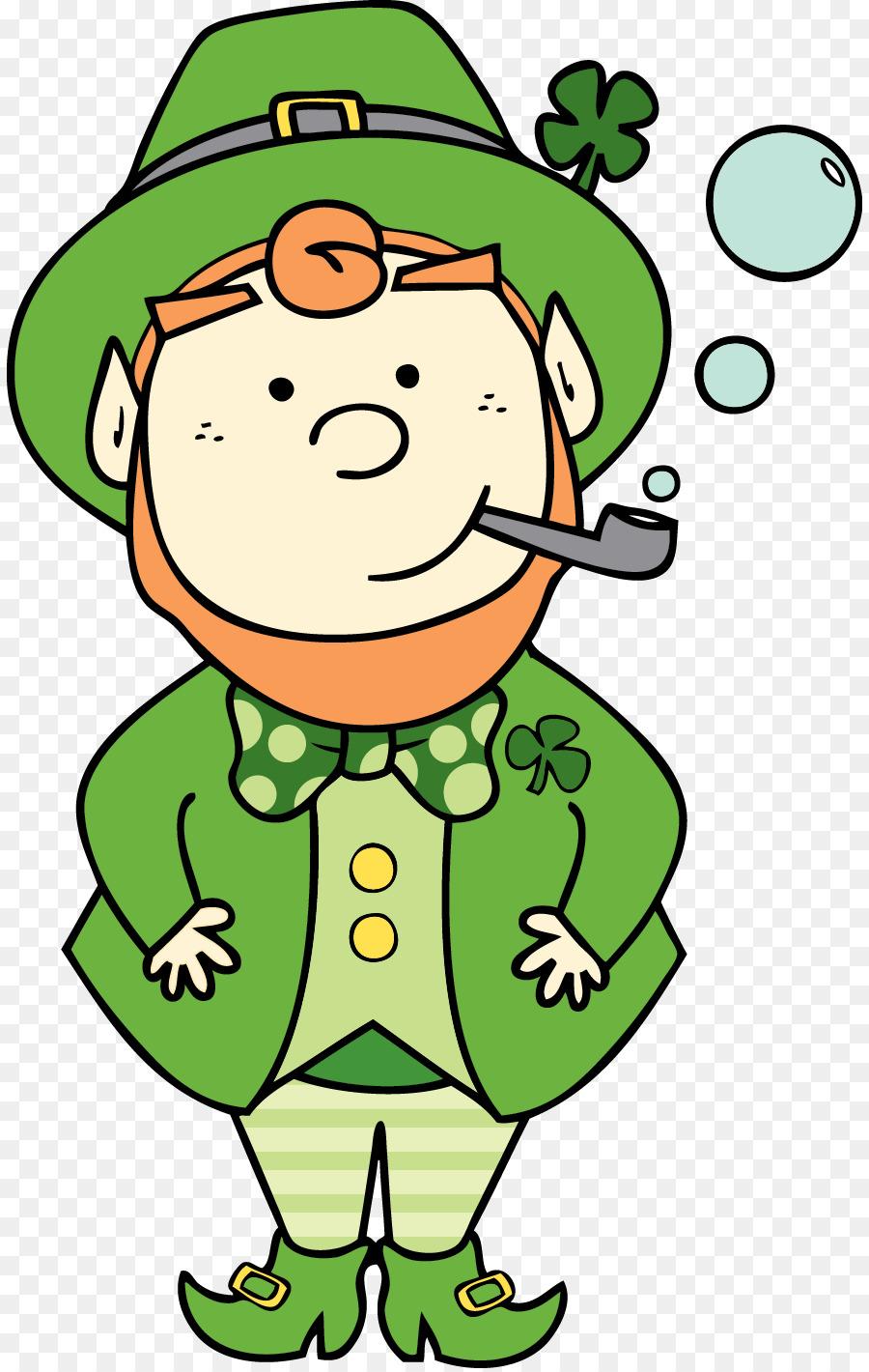 Irlanda Patricio Estrella del Día de San Patricio Duende Leprechaun ...