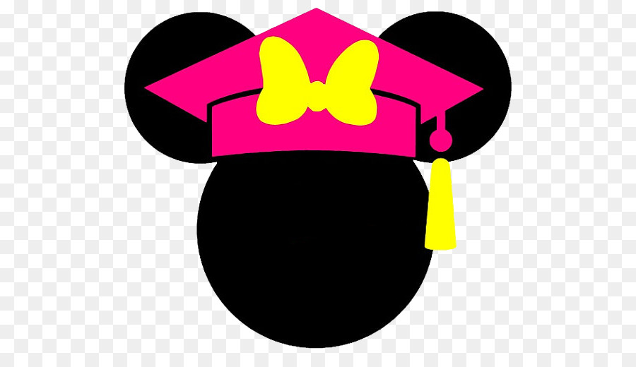 minnie mouse mickey mouse graduation ceremony clip art disney ears rh kisspng com mickey mouse ears clip art free mickey ears hat clip art