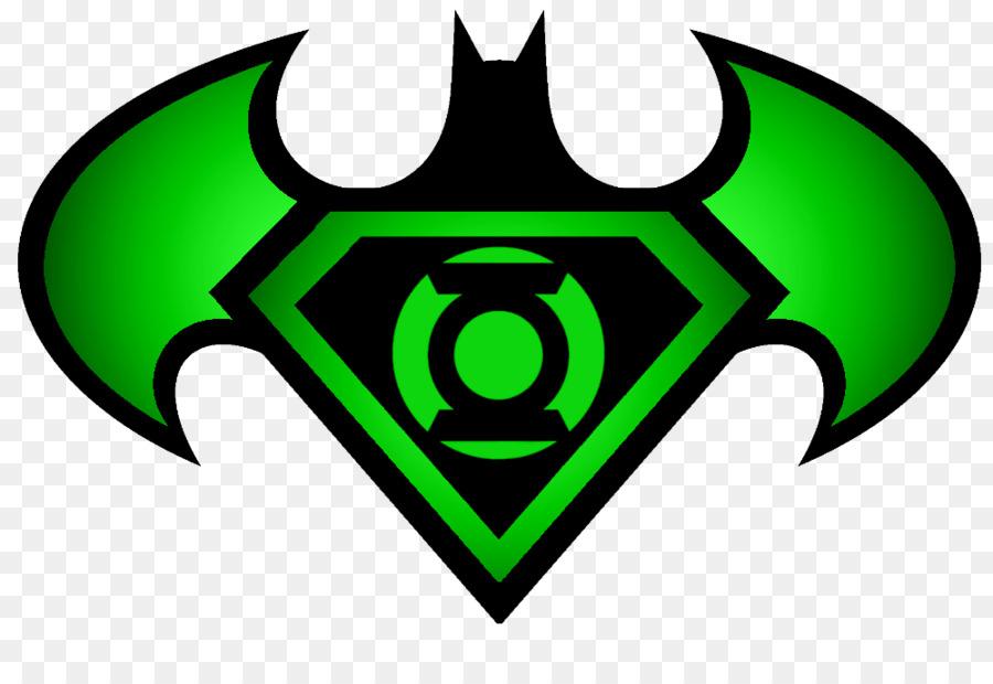 Green Lantern Batman Superman The Flash Empty Superman Logo Png