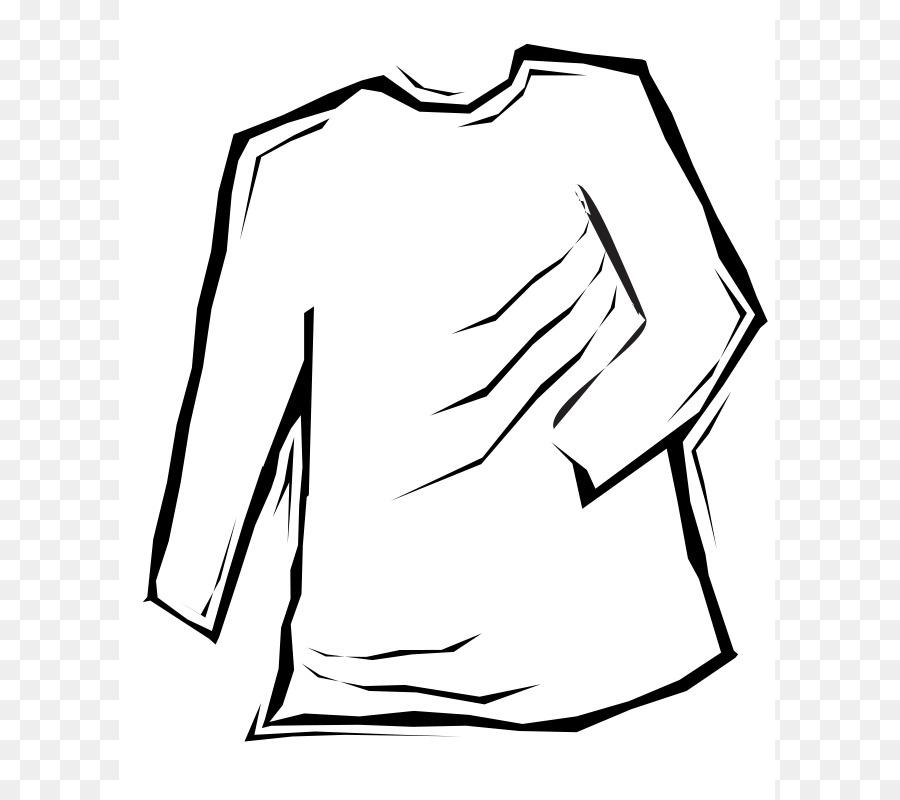 Long Sleeved T Shirt Clip Art