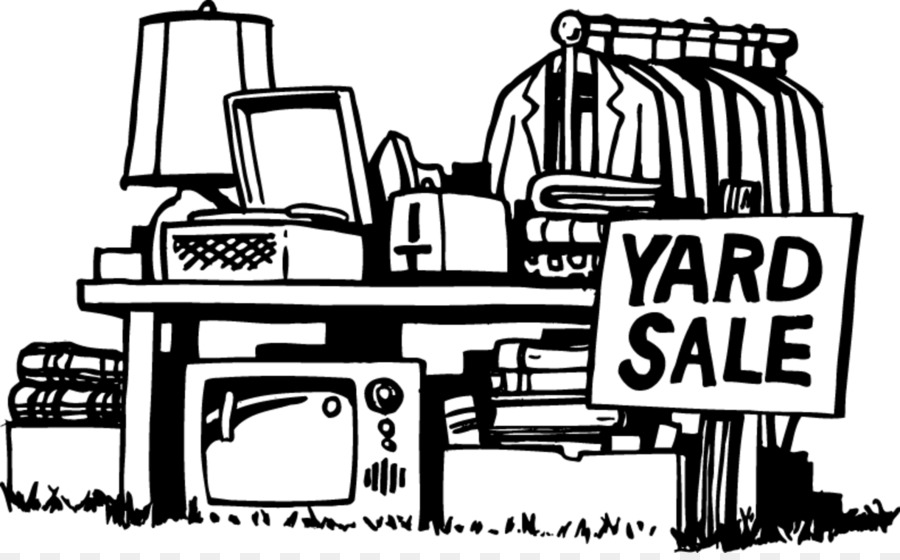 Garage Sale Sales Free Content Black And White Clip Art
