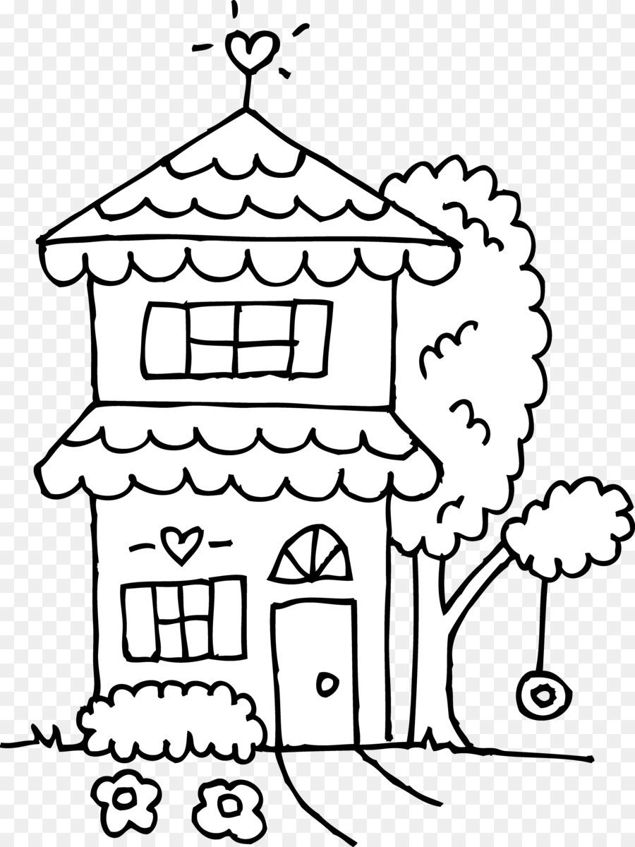 La Casa blanca casa de pan de Jengibre libro para Colorear, imágenes ...